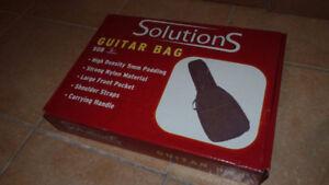 Sac a guitare electrique neuf avec boite d'origine.