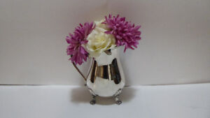 VINTAGE SILVER PLATED PITCHER OR USE AS A FLORAL VASE - MINT