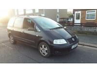 2003 03 VOLKSWAGEN SHARAN 1.9 TDI PD (130bhp) SPORT.GREAT 7 SEATER,ADDED TOWBAR.