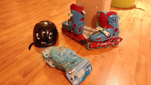 Kids Roller skates and protective gears