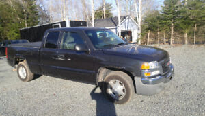 03 gms sierra ext cab 2 wheel dr