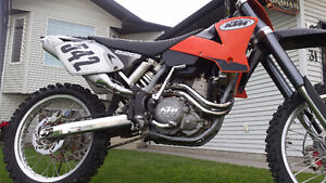 KTM SX 520  VERY VERY FAST AND POWERFULL..!!!!!