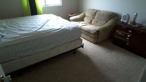 Master bedroom for rent with shared common area