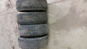 195 55 R15 snow tires 250oBo or trade