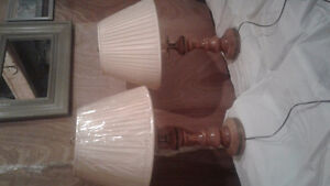 2 Roxton table lamps