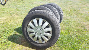 Winter Tires and Rims 185/70R14