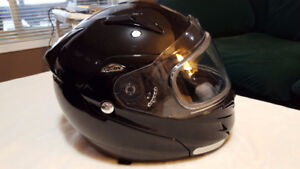 large Zox helmet $65.00 in new condition with bag.