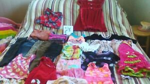 Girls 2t_3t lot clothes