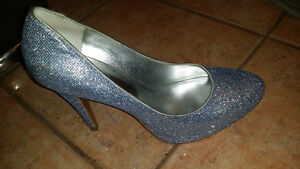 Nine west sparkly heels