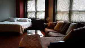 Executive bachelor downtown apartment Available now