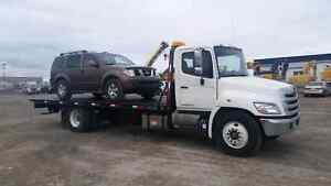 2012 Hino 358 rollback tow truck for sale