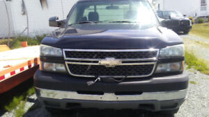 Chev Silverado 2500 long box- 2005 with Fisher Plow