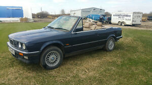 BMW right side drive convertable