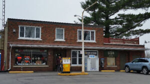 General store with property with gas station/pump