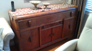 Antique buffet server for sale