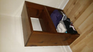 solid wood small bookcase