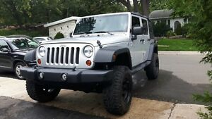 "2012 Jeep Wrangler Unlimited Sport 3.5"" Liftkit"