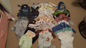 Baby boy clothes 3 to 9 months