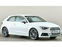 2017 Audi A3 S3 TFSI Quattro 3dr S Tronic Auto Hatchback petrol Automatic