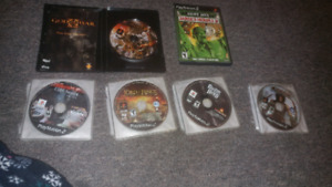 Ps2 game lot