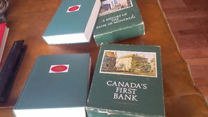 2 Bank of Montreal Historical Books, both in Boxed Sleeves