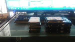 Laptop and desktop hard drives for sale prices are firm.