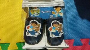 Go Diego Go Blue Footlets Child Toddler Shoes