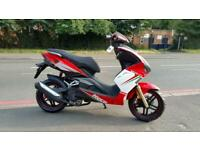 Brand new Neco GPX 125cc sports scooter moped stunning looks finance available