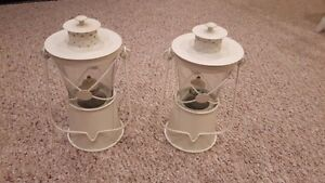White Cute Oil Lanterns