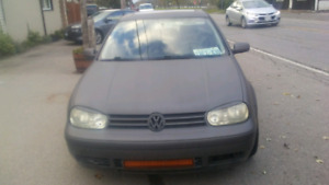 Reduced 2000 VW GOLF 2.0 LITRE 6 SPEED