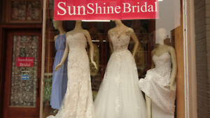BLOW OUT SALES ON WEDDING GOWNS, PARTY DRESSES, ALTERATION