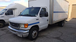 Ford E450 diesel duct cleaning truck