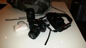 Ensemble appareil photo réflex numérique Canon rebel t1i