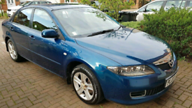 Mazda 6 Petrol Automatic- Phantom Blue MOT Oct 2021