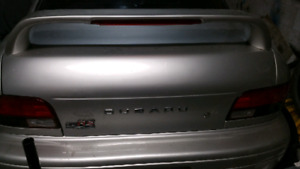 Subaru GC 2.5RS Trunk with Wing