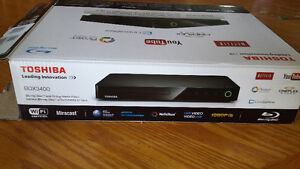 Toshiba Blu-ray Disk and Media Player (NEW)