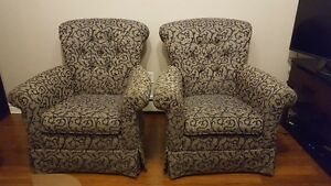 2 Sofa Chairs In Excellent Condition, Like New