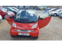 2005(05) Smart City Pulse 61 Semi-Auto ,HPI Clear,Service History,Long Mot,2 ...