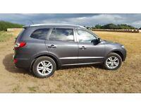 2010 Hyundai Santa Fe Premium,2.2crdi 194bhp,69k Full Dealer Service History,Manual,5 Seats.