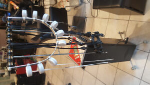 Digital perm machine with full set of the perm rods