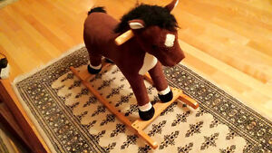 rocking horse looking for new home