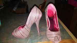 3 pair of women's high heels size 8.5