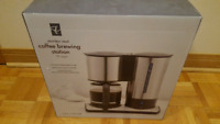 Brand New PC Stainless Steel Coffee Brewing Station Coffee Maker