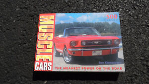 VERY NICE CLASSIC MUSCLE CAR BOOK GREAT PHOTOS