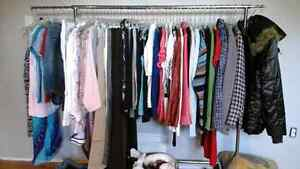 Over 100 pieces of clothing! Cleaned out my closet. Size 6 to 10