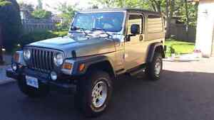 2004 Jeep Wrangler Unlimited 117kms