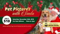 Pet Pictures with Santa!