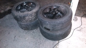Chev cavalier rims and tires