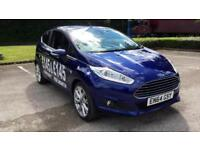 2015 Ford Fiesta 1.6 TDCi Titanium X with SAT N Manual Diesel Hatchback