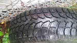 """Winter tires 14"""" Basically new only 1500 km"""